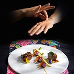 Black angus short rib . 24 hours slow cooked . bacon pistachio _ Image by Oi Vietnam