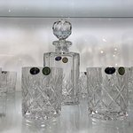 100% Authentic Bohemian crystal glassware