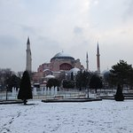 Hagia Sophia in Winter - Istanbul