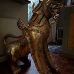 golden statue inside