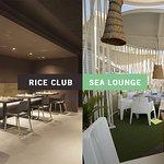 Brassa de Mar: Dos espacios Rice Club & Sea Lounge