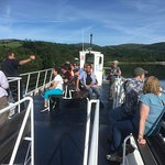 Enjoying a trip on the Shannon at Killaloe with Butlers