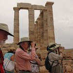 birding arouns Temple of Poseidon, Cape Sounio