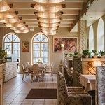 """1 этаж ресторана """"Парк Джузеппе""""/1nd floor of the restaurant """"Park Giuseppe"""""""
