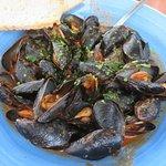Fabulous mussel soup