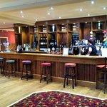 Main bar at The Sir Thomas Brown
