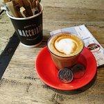 Foto de Macchiato Wood Fire Pizza & Coffee Roastery