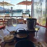 Almoço incrivel com vinho branco, e com essa vista, espetacular