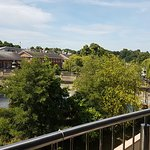 Views from the cafe balcony