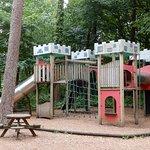 """Children""""s playground area."""