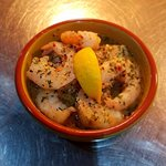 Our lush prawn dish