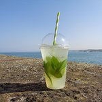 The Lime Mint Cooler - perfect for a summer day on the beach