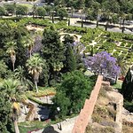 Blick von der Alcazaba
