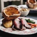 Sunday Roast Beef and a Yorkie