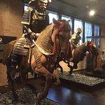 Samurai and horse
