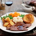 Buy 2 Roasts for just £12 on Sundays - not to be missed!