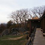 All rooms have sitting areas outside with views of the Shenandoah Valley.
