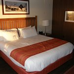 Rooms at Skyland are simple, but clean and comfortable.