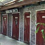 Restrooms.