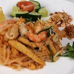фо на воке с морепродуктами
