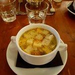 soupe croutons à l'ail