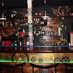 Наша барная стойка ждет гостей, желающих пообщаться!