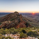 Mount Sonder sunrise is very special on the Larapinta Trail