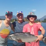 Vancouver Salmon Fishing with Saltwater-City Fishing Charters
