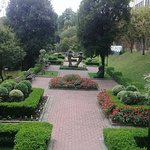 Jardim do hotel, lindo!