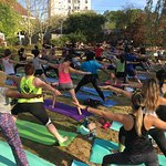 Namaste at Park Tavern and have some fun!