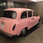 Famous pink Langham car