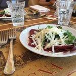Antipasto Carpaccio -portions were VERY generous!