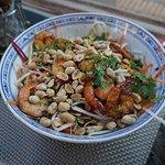 Bo-bun (cold rice vermicelli salad)