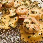 Ravioli di pesce gamberi zucchine