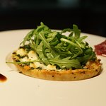 Goats cheese and spinach tart