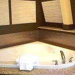 Hot tub VIP room