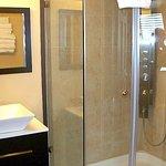 Hot tub VIP room shower