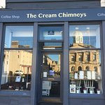 The Cream Chimneys, in The Square, opposite the Town Hall.