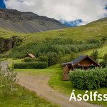 This is the 2 cottages in a beutifull landscape