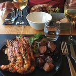 Awesome gambas as main course
