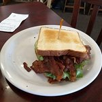 BLT with 16 slices of bacon!