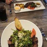 Photo of Steak on Fire