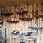 Gin shack with 25 gins and counting. Open Thurs pm, Fri pm, Sat, sun