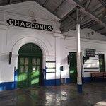 Estación de tren. Hall principal