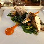 Lemon Marinated Seared Swordfish