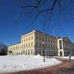 Royal Palace in the snow