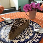 june 5 2018 Vegan mousse cake - delicious nut crust and chocolate mousse