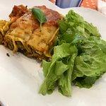 vegan lasagna - part of set lunch menu june 5 2018