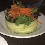 Mixed Green Salad with English Cucumber