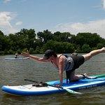 Go ahead, test your yoga skills.